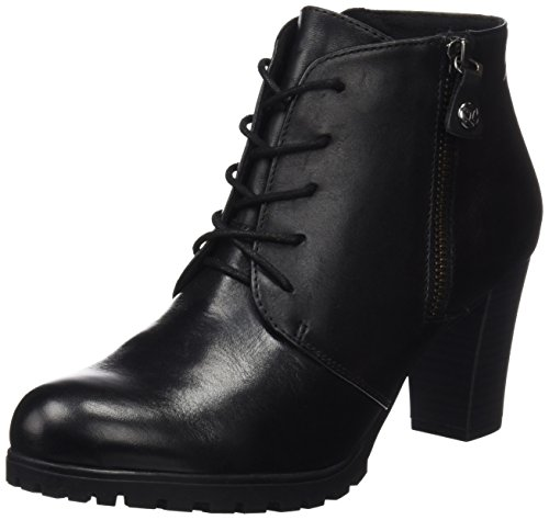 Femme Bottes Black Noir Nappa Caprice 25200 qWwnCaEHxF