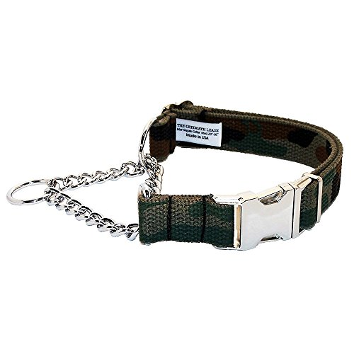 Camo Serie Martingale Hundehalsband | Made in Den USA | die Ultimative Leine, 20-26