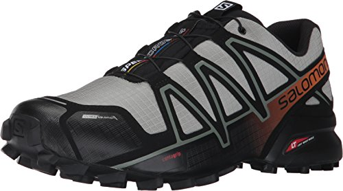 Salomon Speedcross 4 CS, Chaussures D'Escalade Homme, Multicolore (Shadow/Black/Hawaiian S), 41 1/3 EU