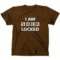 I Am Sherlocked–T-shirt, Sherlock Holmes, TV, marrone, M