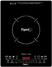 Pigeon by Stovekraft Rapido Slim 2100-Watt Induction Cooktop, Black