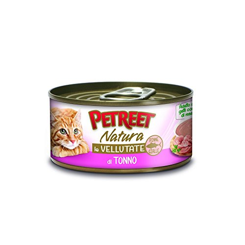 PETREET Nat Vellutate Tonno Alimenti Gatto Umido Premium