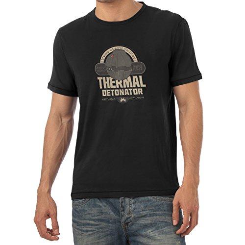 NERDO - Thermal Detonator - Herren T-Shirt Schwarz