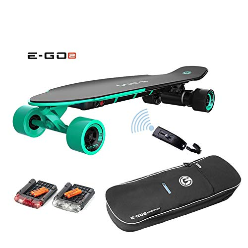 DROHNENSTORE24.DE ...DER DROHNEN-GURU Yuneec EGO 2 E-Longboard Deep Mint Plus Transporttasche, LED Licht und weiteres Zubehör