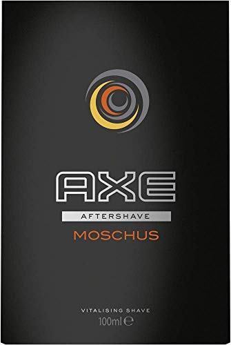 Axe Aftershave Moschus, 100 ml, 1er Pack (1 x 100 ml)