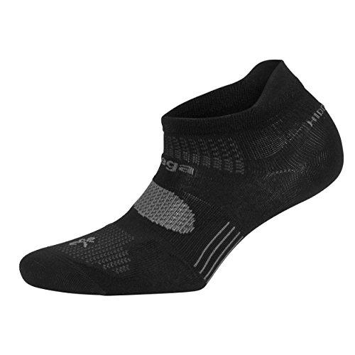 Balega Hidden Dry Moisture Wicking Socks for Men and Women (1 Paar), Mädchen Damen Herren Jungen, schwarz, Medium - Smartwool Womens Running Light