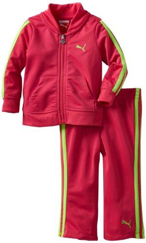 Puma Kinder Baby M?dchen Trikot Track Jacke und Hose Set, R¨¹ben lila, 12 Monate (Jacke-set Tricot)