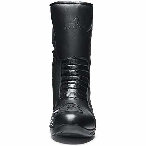 Agrius Bravo Motorcycle Boots 43 Black (UK 9) - 5