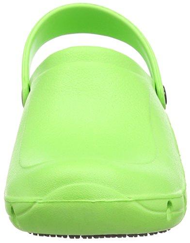 Toffeln Eziklog Unisex-Erwachsene Sicherheitsschuhe Green (Lime Green)