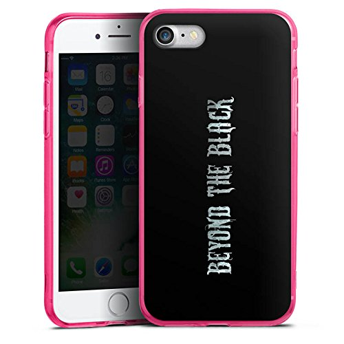 Apple iPhone 8 Silikon Hülle Case Schutzhülle Beyond the Black Merchandise Fanartikel Silikon Colour Case pink