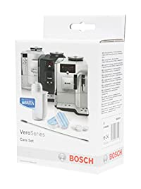 Bosch Cleaner and Descaler for Automatic Espresso Machine - Care Set for Vero Professional and VeroBar Coffee Machines (Made in Germany)