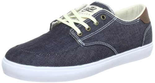 Lakai Belmont Select MS1130205A00, Herren Sneaker, Blau (Midnight Canvas F0820), EU 46 (UK 10.5) (US 11.5) -