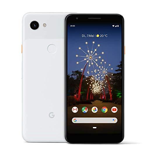 Foto Google Pixel 3A 64 GB Smartphone Android 9.0, Mono SIM, 64 GB memoria (non espandabili), Bianco (Clearly White)