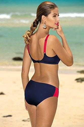 Merry Style Damen Figurformender Bikini F06A Muster-344
