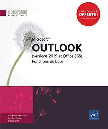 Outlook (versions 2019 et Office 365) - Fonctions de base