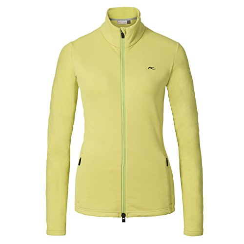 KJUS Damen Fleecejacke Midlayer Calienta Jacket LS25-A03 grün Gr. 42