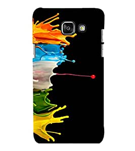 printtech Color Splash Back Case Cover for Samsung Galaxy A7 2016 Edition