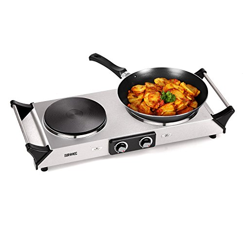 Duronic HP2SS Portable Electric Hot Plate