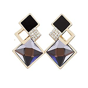 Glitz Womens Fashion Jewellery for Fancy Party Wear Long Drop and Dangle Earrings for Girls