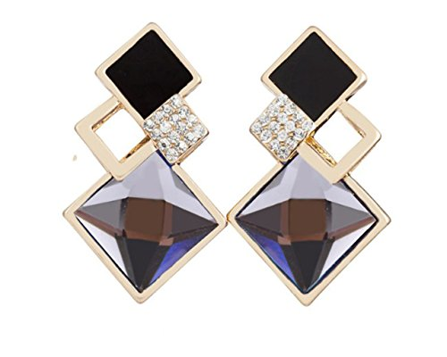Glitz Womens Fashion Jewellery for Fancy Party Wear Long Drop and Dangle Earrings for Girls