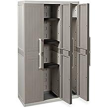 Toomax Wood Line S - Armario, 3 puertas, 4 estantes