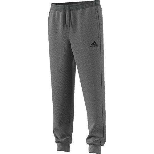 adidas Herren Core 18 Sweat Trainingshose, Dark Grey Heather/Black, XXL