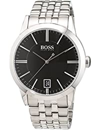 Hugo Boss Herren-Armbanduhr Success Analog Quarz Edelstahl 1513133