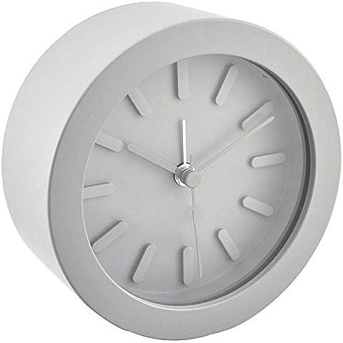Moda ZHGI poco simple reloj, reloj de cabecera los niños estudiantes, dormitorio creativo, reloj de alarma snooze reloj perezoso paquete mail , s-166 gris