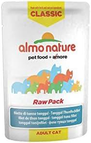 Almo Nature : Pochon Classic Raw Pack Chat : Filet De Thon