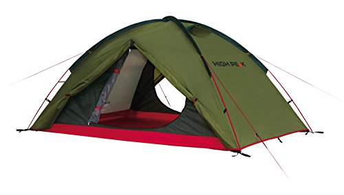 High Peak Zelt Woodpecker 3, Pesto/Rot, L