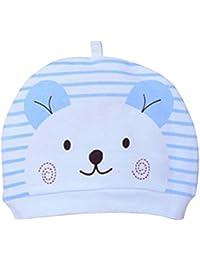Comaie® Sombreros para bebés y niñas con diseño de dibujos animados  gruesos. Gorros de algodón para niños recién nacidos 0a1e874d773