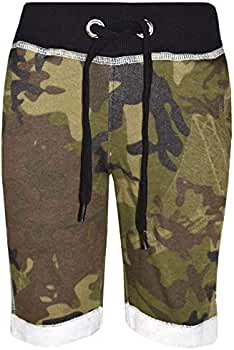A2Z 4 Kids® Kinder Shorts Kurze Hose Mädchen Jungen Designer's TarnungAufdruck Baumwolle Chino Shorts Kurze Hose Casual Knee Length Half Pant Alter 5