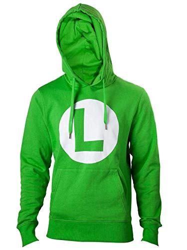 Nintendo Hoodie -XL- Logo L, grün