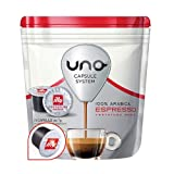 16 Cialde Uno Capsule System Illy Espresso Media Arabica Originali