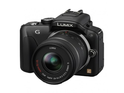 Panasonic DMC-G3WGC 16MP Point and Shoot Camera (Black) with 3x Optical Zoom