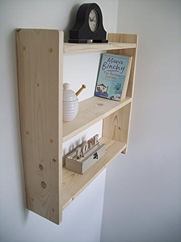 Large 60cm Plain Pine Kitchen Shelves, Bedroom Shelves, Bathroom Shelves, Spice Rack, Kids Shelves.
