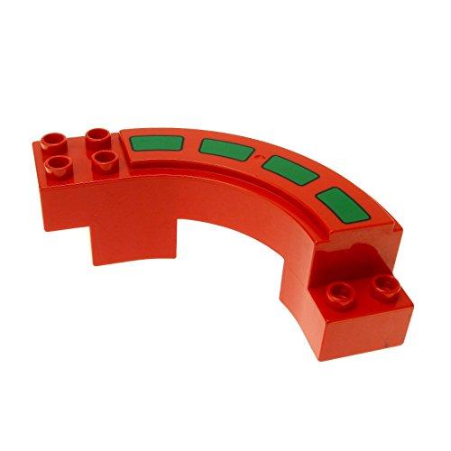 1-x-lego-duplo-rennbahn-rot-mit-fahrbahn-markierung-strassenabschnitt-gebogen-kurve-autobahn-rennstr