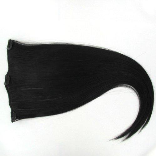 Extensions à clip cheveux châtain foncé \