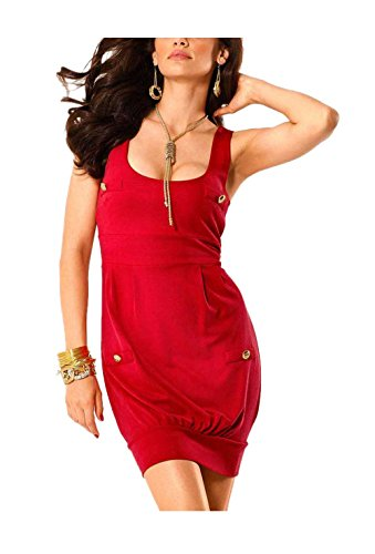 Melrose - Robe - Boule - Opaque - Femme Rouge Rouge Rouge - Rouge