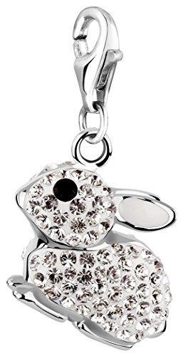 Nenalina Charm Hase Anhänger in 925 Sterling Silber für alle gängigen Charmträger 716243-001