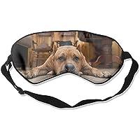 Eye Mask Eyeshade Dog Lying Floor Sleeping Mask Blindfold Eyepatch Adjustable Head Strap preisvergleich bei billige-tabletten.eu