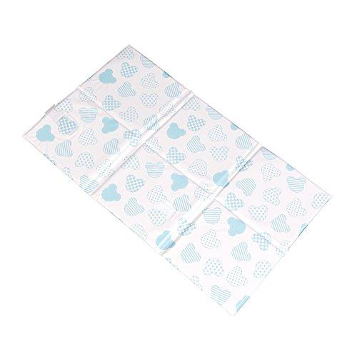 Preisvergleich Produktbild H3 Baby W445 Faltbare Wickauflage für Unterwegs, blau/mehrfarbig
