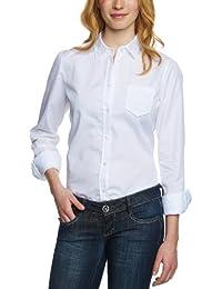 Marc O'Polo Damen Regular Fit Bluse B01 1241 42389