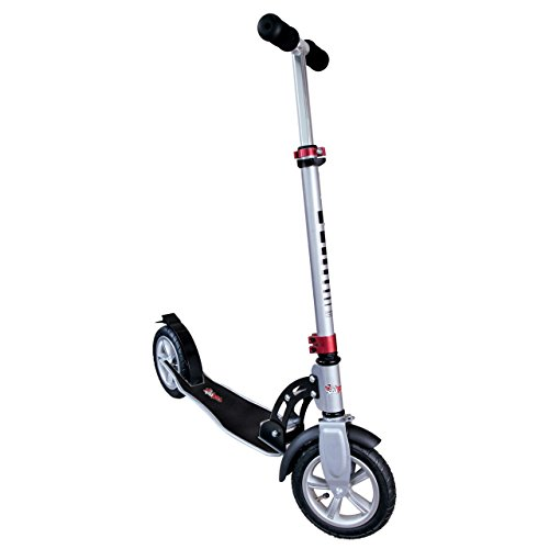 authentic sports & toys GmbH Aluminium Scooter No Rules Air 205 mm, Grau/Schwarz