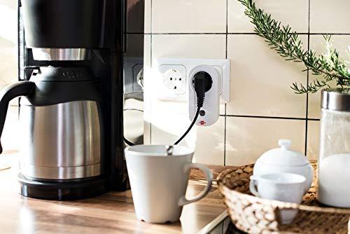 Brennenstuhl Funkschalt-Set RC CE1 4001 (4er Funksteckdosen Set Innenbereich, mit Handsender und Kindersicherung) weiß - 7