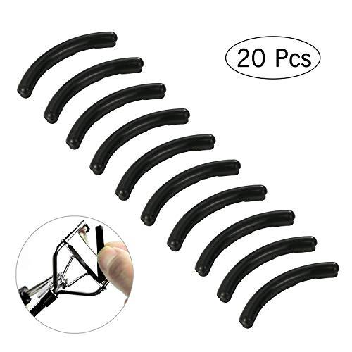 20PCS Ersatz Silikonpads Nachfüllung Wimpernzange Make-up Eyelash Curler Tool Pads