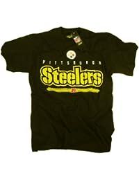 Pittsburgh Steelers camiseta ropa prendas de vestir Logo del equipo NFL con licencia oficial de la