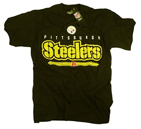 Pittsburgh Steelers T-shirt Vêtements Apparel équipe Logo Sous Licence Officielle