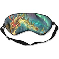 Eye Mask Eyeshade Fantasy Deer Sleep Mask Blindfold Eyepatch Adjustable Head Strap preisvergleich bei billige-tabletten.eu