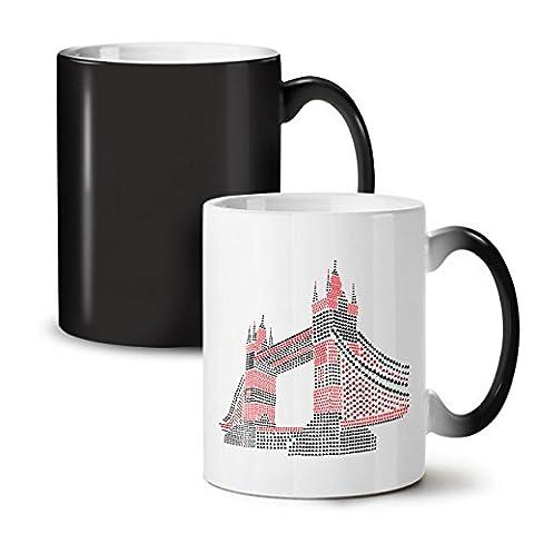 La tour Pont Royaume-Uni Londres Noir Couleur Changement Thé Café